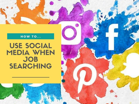 How to use social media when job searching