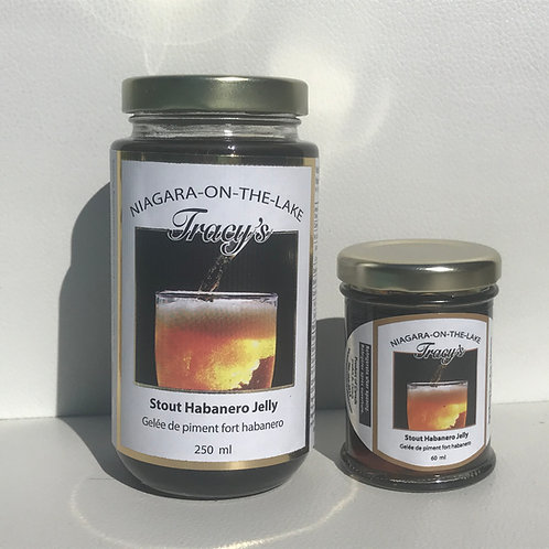 "Stout Habanero Beer Jelly ""Spicy Hot"" 60ml"