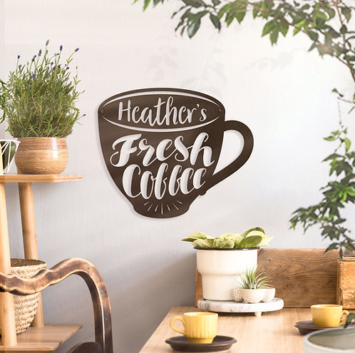 Coffee Bar Sign ~ With Your Custom Text