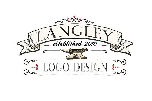 Logo Design for Langley Metal Works