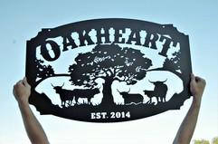 oakheart 3ft by 2ft sign.jpg