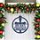 Thumbnail: Ornament Framed Cross Merry Christmas | Christmas  Door Sign
