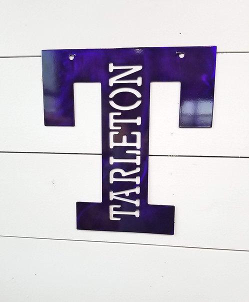 Tarleton State University Tarleton T Sign