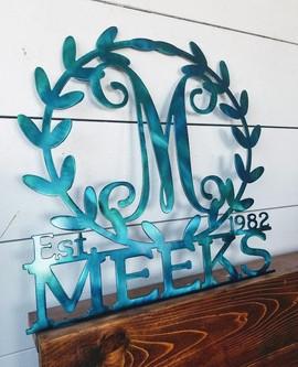 Leafy border turquoise meeks.jpg