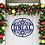 Thumbnail: Metal Snowflake Family Name Christmas Door Hanger Decor Sign