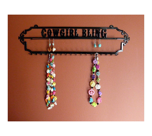 Cowgirl Bling Jewelry Holder (Small)