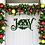 Thumbnail: JOY Custom Metal Door Hanger Wreath Sign