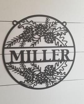 Miller pine cone name sign.jpg