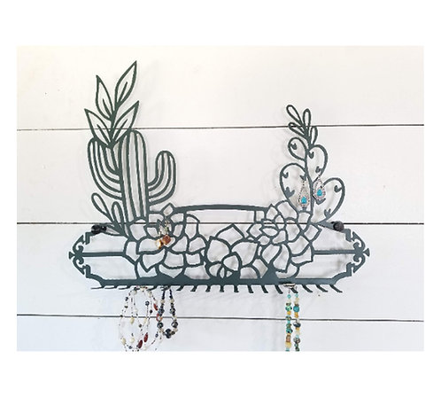 Cactus Jewelry Hanger and Storage