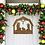 Thumbnail: Nativity Metal Front Door Hanger Sign