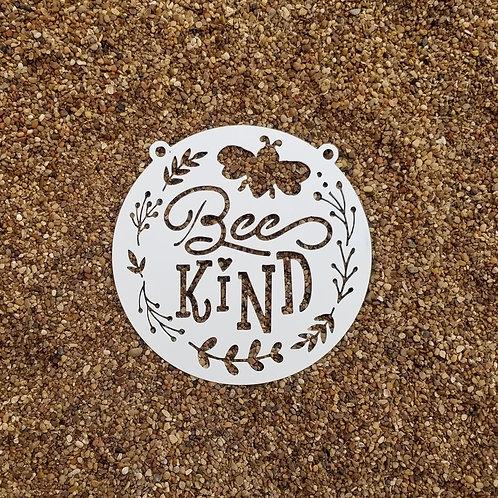 Bee Kind, Metal Garden Sign