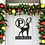 Thumbnail: Classic Christmas Reindeer Door Hanger Sign For Front Entry