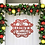 Thumbnail: Family Classic Christmas Metal Name Door Hanger Sign