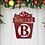 Thumbnail: Decorative Family Metal Steel Christmas Present Sign