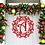 Thumbnail: Farmhouse Simple Christmas Door Hanger Decoration