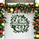 Thumbnail: Farmhouse Simple Christmas Door Hanger Decoration