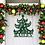 Thumbnail: Family Classy Christmas Tree Door Hanger