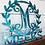 Thumbnail: Leafy Border Last Name Monogram With Date