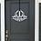 Thumbnail: Personalized Metal Sign | Modern Door Wreath | Monogram Door Hanger | Family Sig