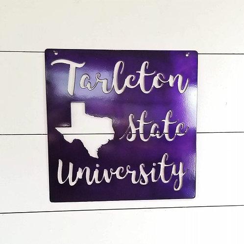 Tarleton State University Sign