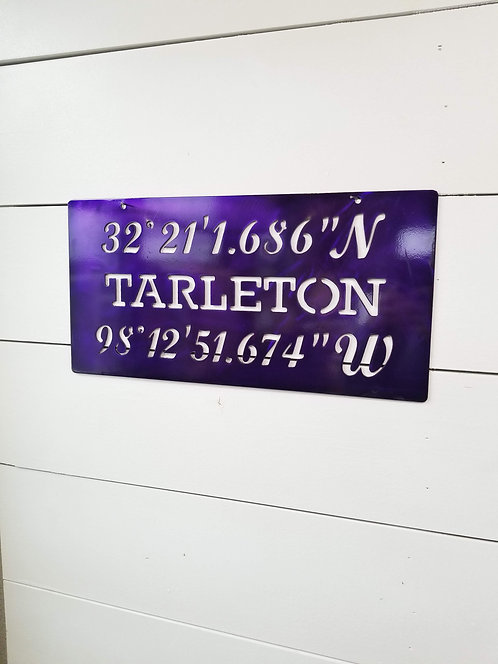 Tarleton State University Latitude and Longitude of Original Gates