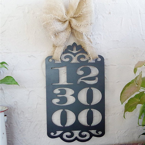 Metal Anniversary or Wedding Sign