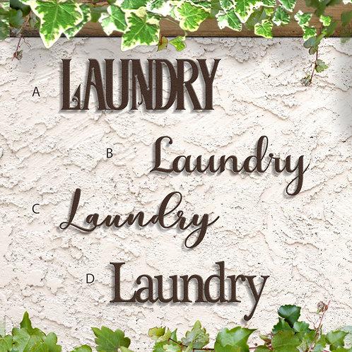 Laundry Room Decor, Laundry Sign