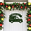 Thumbnail: Christmas Truck Tree Personalized Metal Sign