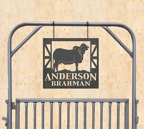 Show Brahman Metal Sign