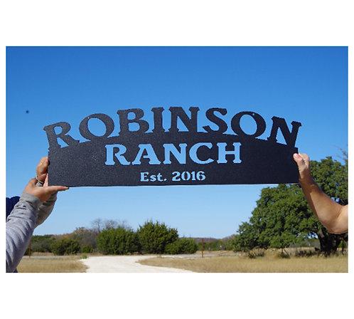 Bold Ranch Heavy Duty Sign LMW-16-05
