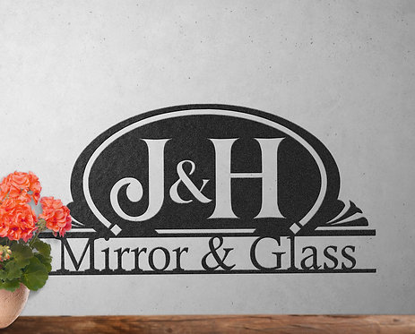 Custom Business Sign, Personalized Company Office Sign