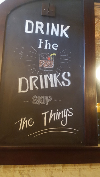 Drink the Drinks Skip The Things