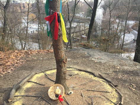 Establishing a Sacred Prayer Tree In Central Park