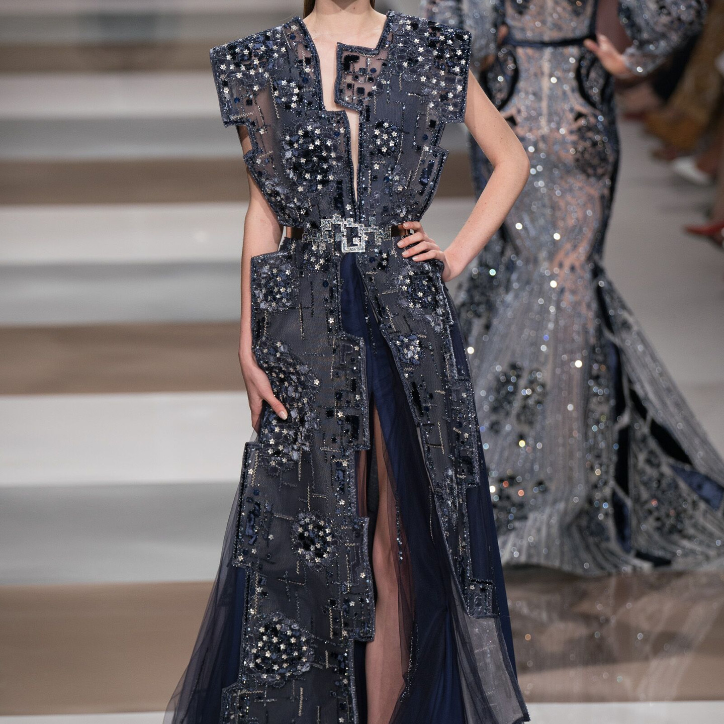 Ziad Nakad Autumn/Winter 2019/20 Couture Collection PFW Shot by: Antonio SO