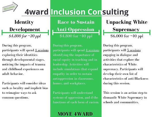 4ward Inclusion Racial Equity Programs (