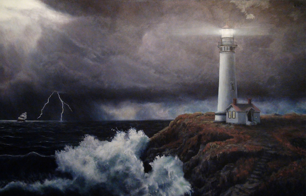 A Lighthouse In a Storm