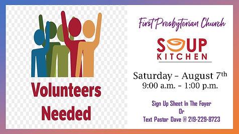 Soup Kitchen Volunteers Needed AD.jpg