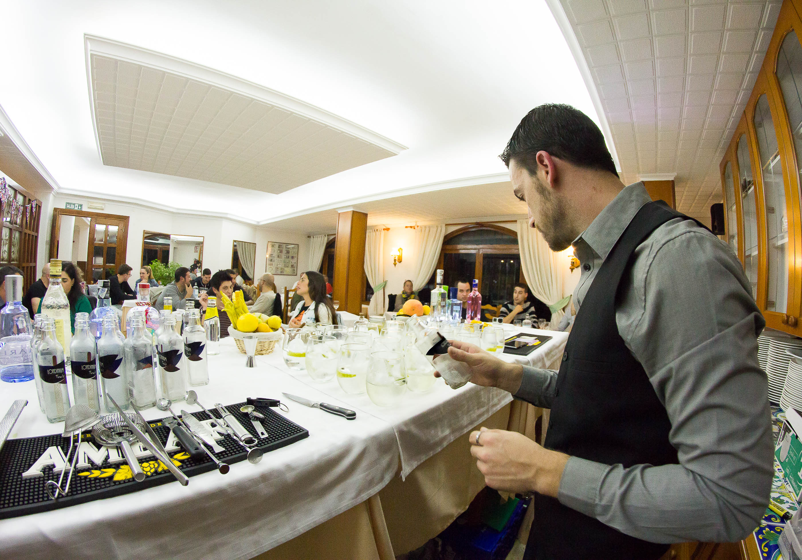 Gourmet food & drink event
