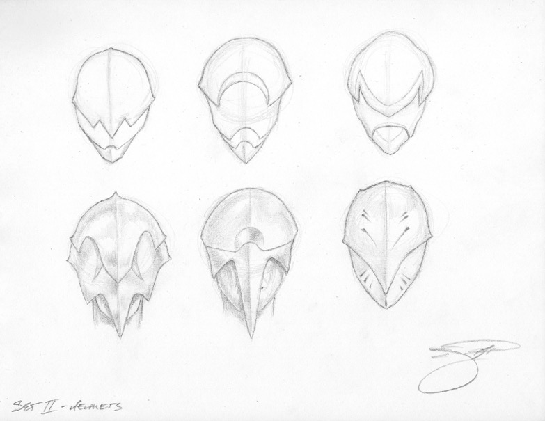 Sith Lord Rough Sketches - Masks Helmets II  023 - Copy