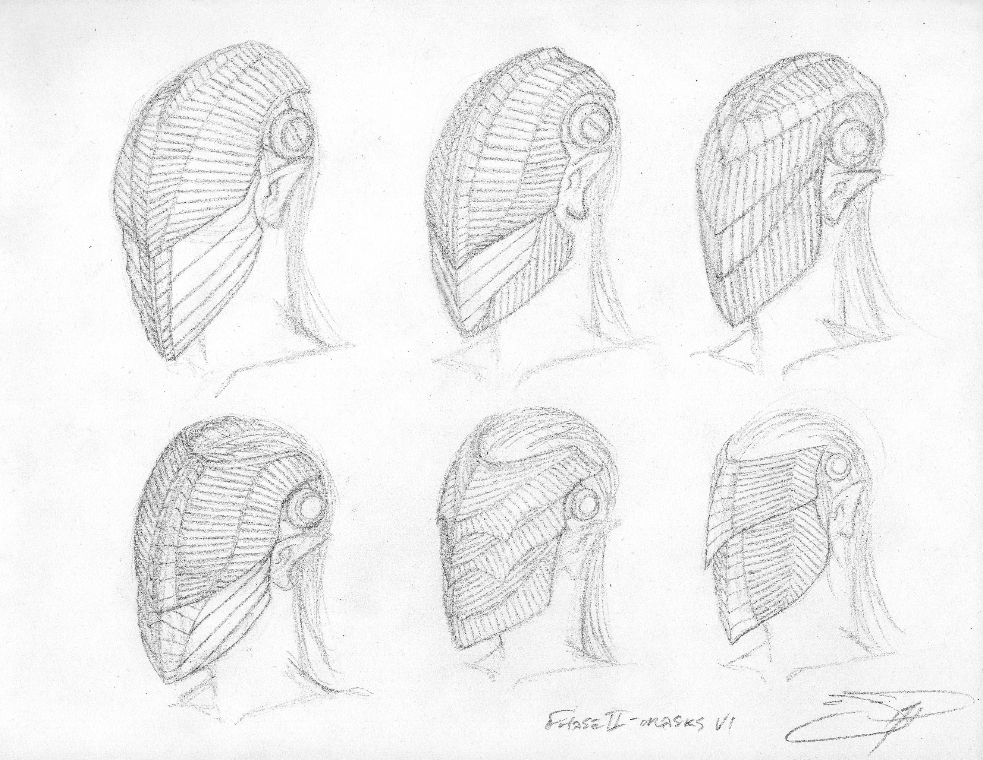3 Sith Lord Sketches - Phase 2 Mask VI b 033