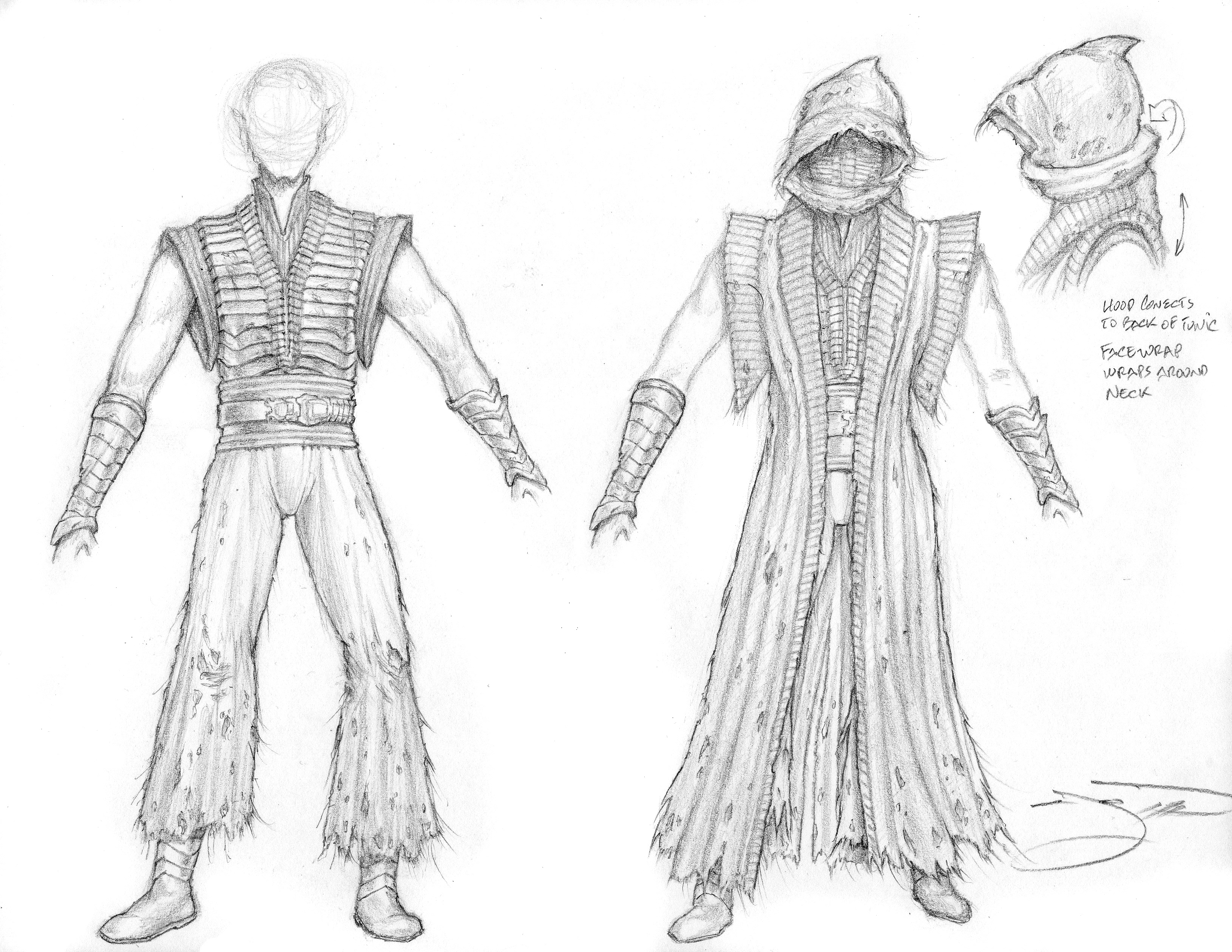 Sith Lord Sketches - Costume IV  029-1