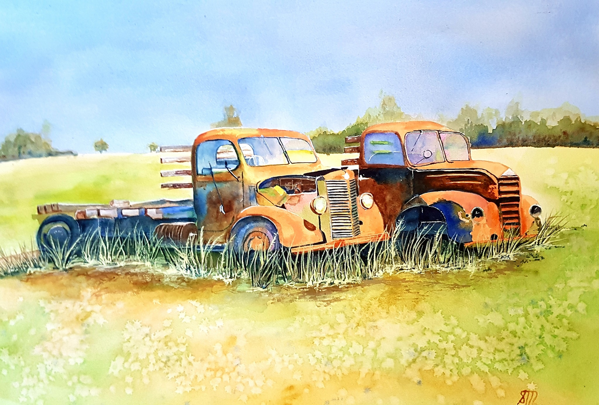 Antique Trucks