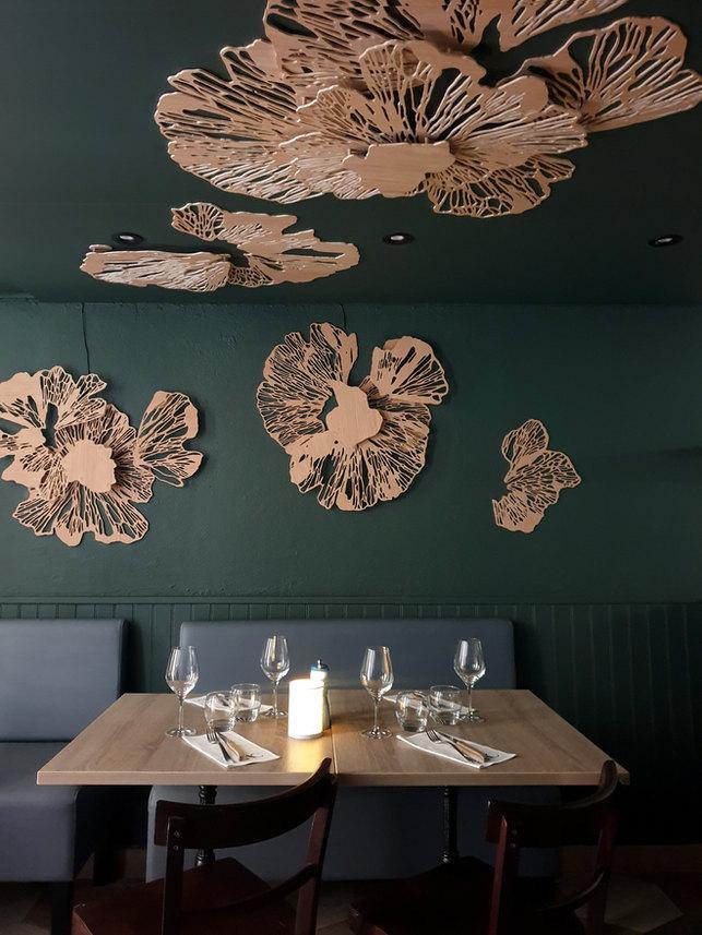ABACUS restaurant en collaboration avec Mikikayya