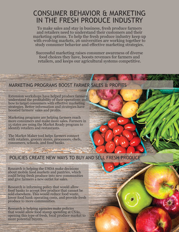 Consumer Behavior & Marketing in the Fresh Produce Industry (S-1050 | 2010-2015)
