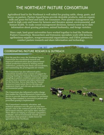 The Northeast Pasture Consortium (NEERA-1003 | 2011-2016)