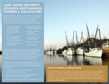Fisheries & Aquaculture (W-3004 | 2014-2019)