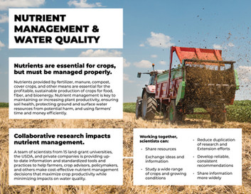 Managing Nutrients and Water Quality (WERA-103 | 2015-2020)