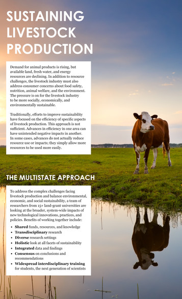 Sustaining Livestock Production (S-1032 | 2013-2018)