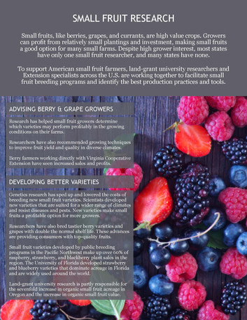 Small Fruit Research (NCCC-212 | 2011-2016)