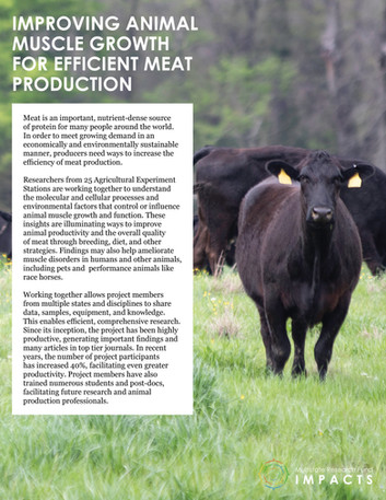 Improving Meat Production (NC-1184 | 2015-2020)
